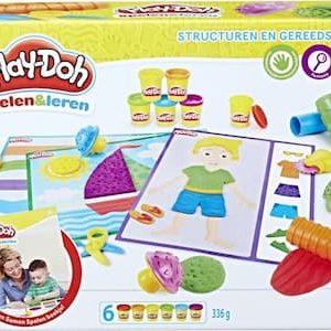 Play-Doh Structuren en gereedschap