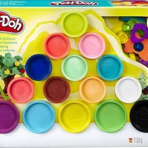 Play-Doh 15 potjes en accessoires
