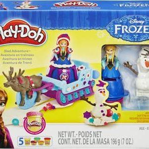 Play-Doh Disney Frozen Arreslee voor Kerstmis Avontuur