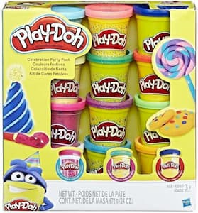 Play-Doh Glitter 12 pack