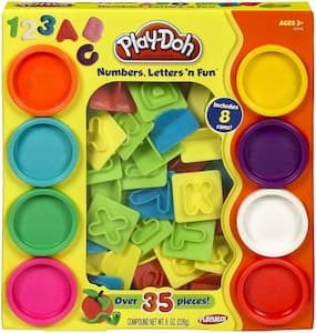 Play-Doh Letters en Fun