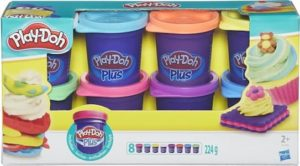 Play-Doh Plus 8 Kleuren
