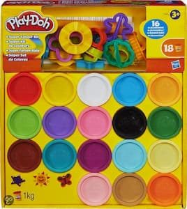 Play-Doh Super Color Kit 34 potjes