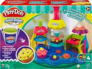 Play-Doh Taartjes versierset